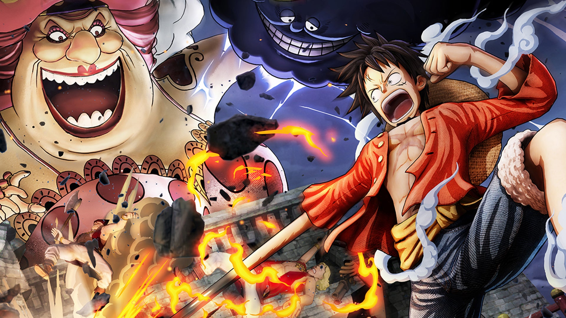 One Piece: Pirate Warriors 4, Karate και σκορβούτο